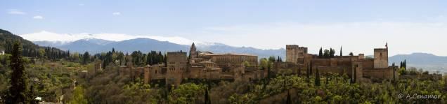 Alhambra desde Sán Nicolás I