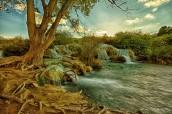 Ruidera waterfall