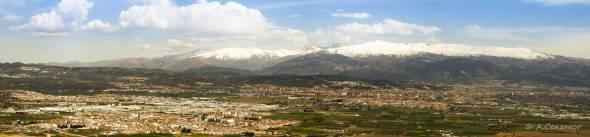 Sierra Nevada panorámica I