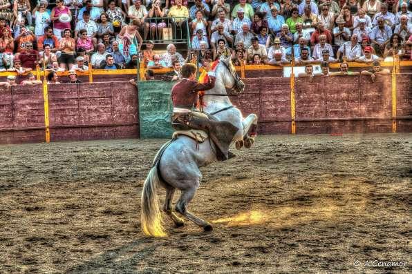Fiesta taurina Hinojal