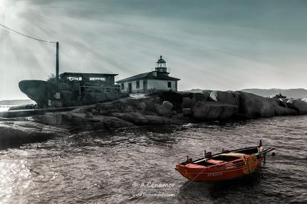 Faro A Illa de Arousa