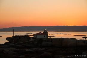 Atardecer Faro