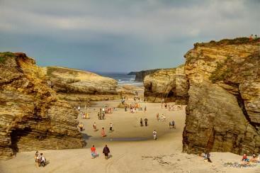 Panorámica praia as Catedrais I