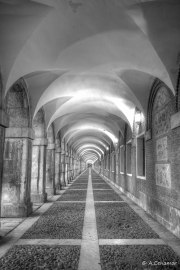 Bóvedas en Plaza de Parejas BW