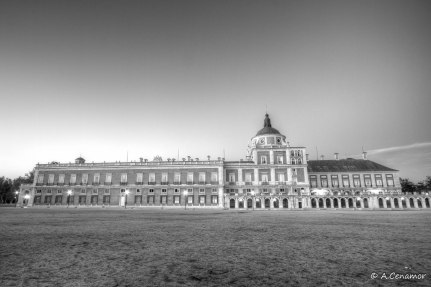 Royal Palace of Aranjuez BW