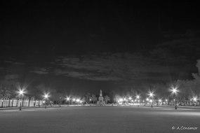 Plaza de San Antonio y fuente de Venus