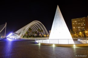 Pirámide y L'Umbracle