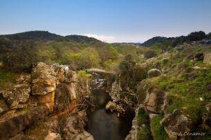 Puente viejo río Ibor