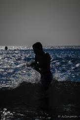Backlights beach III