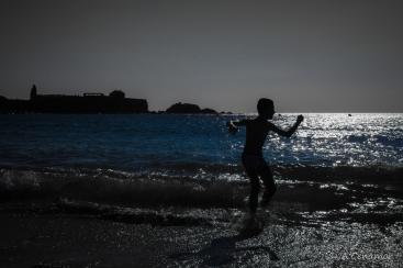 Backlights beach II