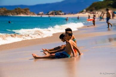 Playa de Rodas Tilt Shift