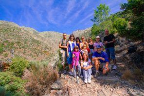 El grupo en Los Galayos
