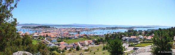 Panorámica A Illa de Arousa