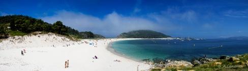 Rodas Beach, Cies Islands