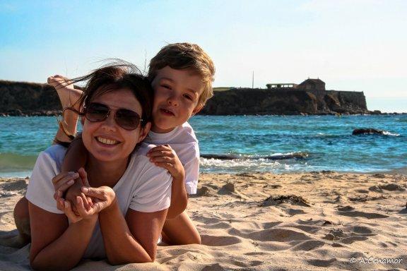 La Lanzada beach