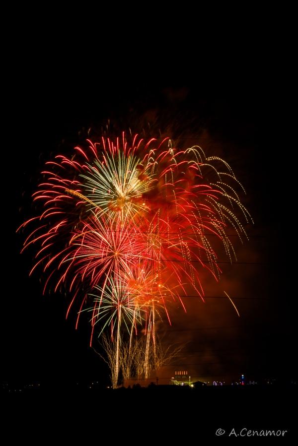 Parla fireworks celebrations VII