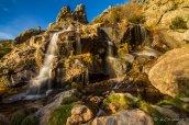 Litueros waterfall