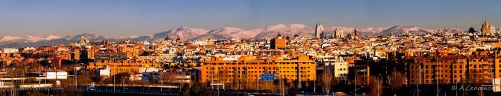 Madrid skyline south