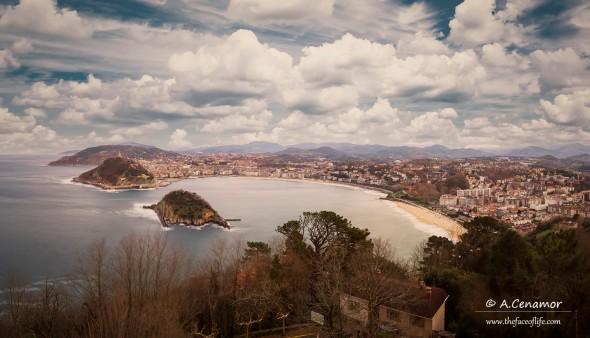 Donosti, playa de la Concha