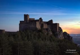Castle of Loarre dusk