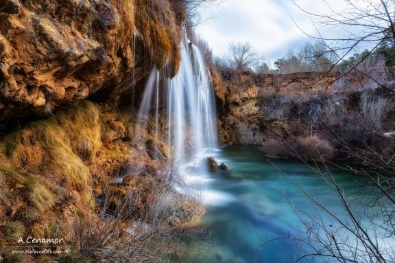 Cabriel waterfall