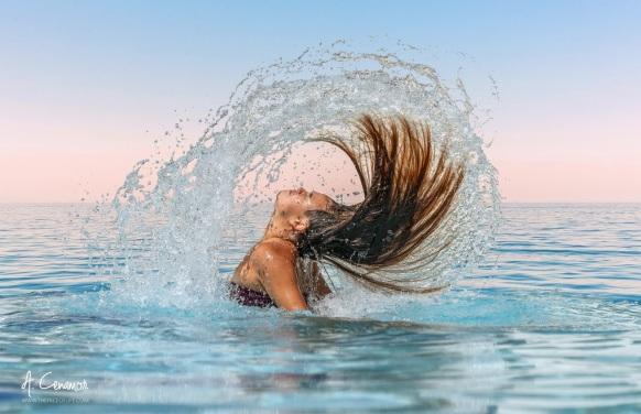 beautiful splash, fine art