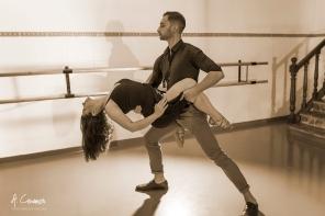 Luis Pascual & Lola Pizarro dancing II